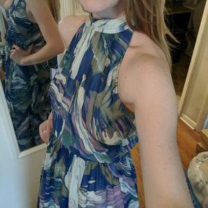 Gorgeous maxi sleeveless chiffon dream dress
